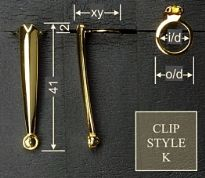 Clip style K